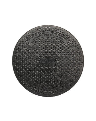 "Jackel Septic Tank Riser Cover (24"" Diameter - Black)"