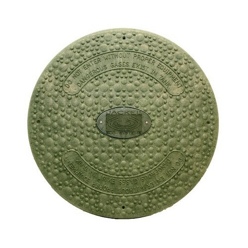 Septic Tank Riser Cover - INSULATED - GREEN - FITS 24