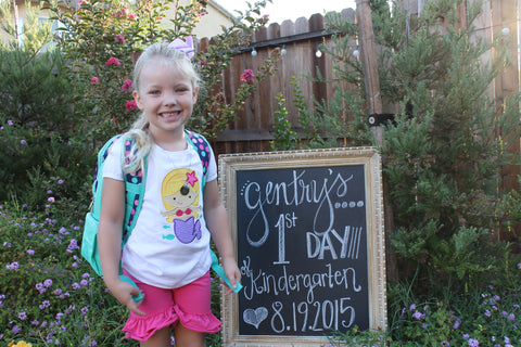 Gentry 1st day of Kinder