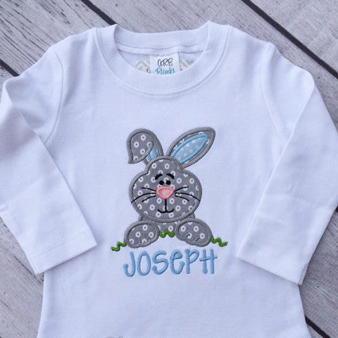 Easter bunny boy shirt.