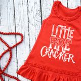 Little / Big Ruffle Firecracker Dress