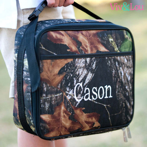 Monogram Lunchbox - Camo Woods