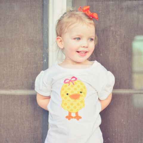 Easter Little Chickie Shirt.