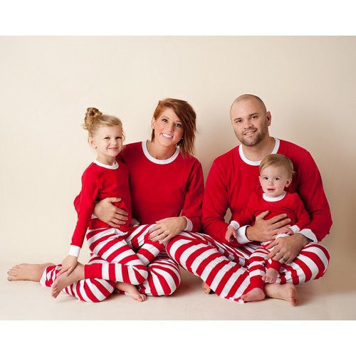 35b5e83089 Christmas Pajamas - Adult Blank Plain. Unisex Holiday Pjs. – Gentry ...