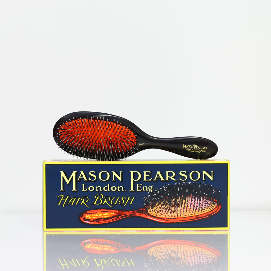 MASON PEARSON BN3 Handy bristle & nylon - Dark ruby