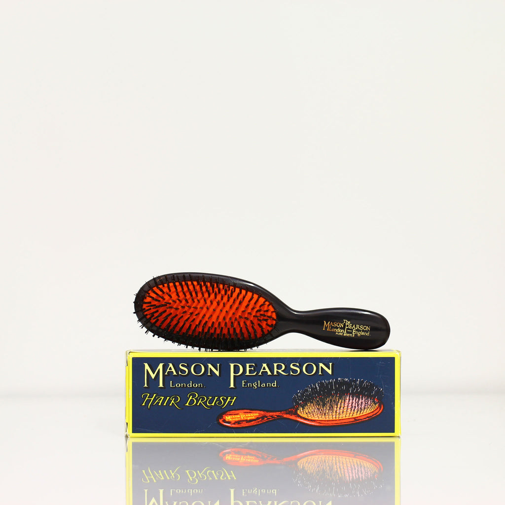 MASON PEARSON Pocket bristle B4 - Dark ruby