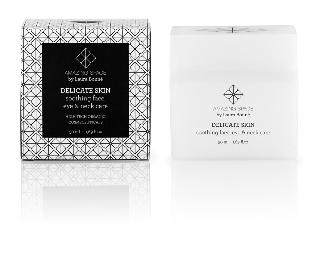 DELICATE SKIN - SOOTHING, FACE, EYE & NECK CARE