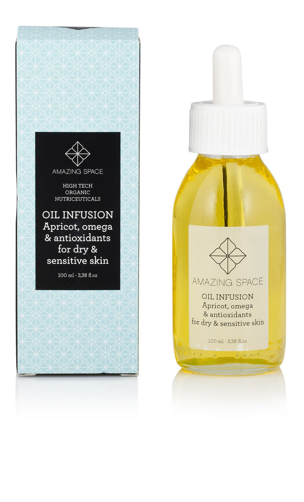 OIL INFUSION - APRICOT, OMEGA & ANTIOXIDANT FOR SENSITIVE & DRY SKIN