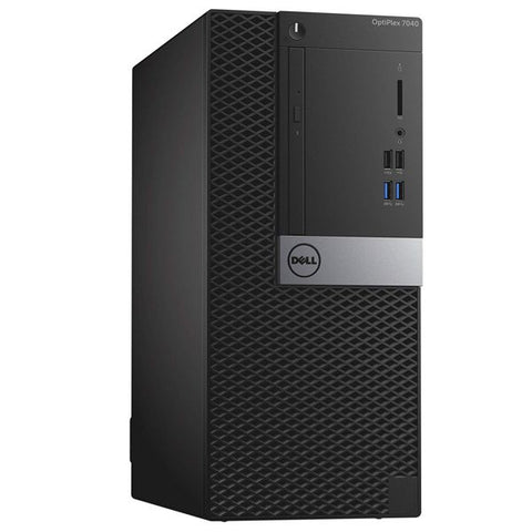 Компютър втора употреба DELL OptiPlex 7040 - CPU i5-6600, 16GB RAM DDR4, 500GB HDD / 250GB SSD(нов), HD Graphics 530