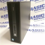 Компютър втора употреба HP EliteDesk 800 G2 desktop - CPU i5 6500 - 3.20 GHz, 8GB RAM, 256GB SSD + 500GB HDD, HD Graphics 530