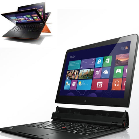 Лаптоп (таблет) LENOVO THINKPAD HELIX ULTRABOOK втора употреба  - CPU I5 - 3317U, 4GB RAM, 128 GB SSD, HD Graphics 4000