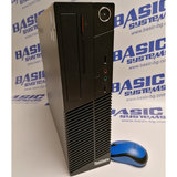 Компютър втора употреба Lenovo ThinkCentre M72e - CPU I3 3220 – 3,3Ghz, 4GB RAM, 250GB HDD, HD Graphics 2500