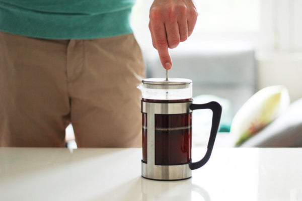 earlybird coffee French Press Kaffee filtern