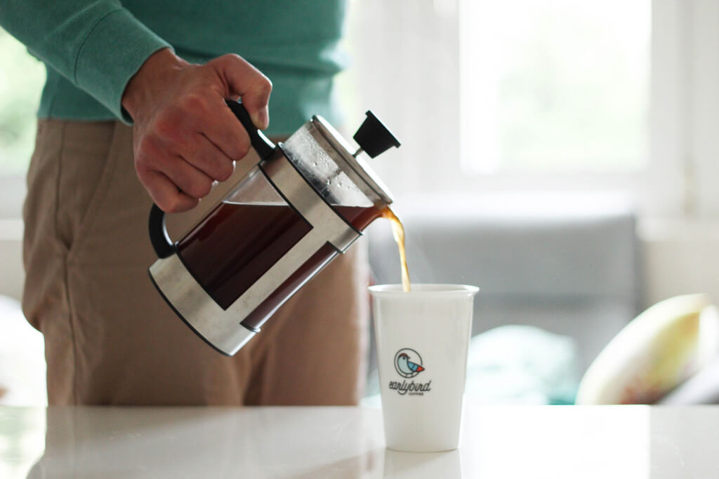 earlybird coffee French Press Kaffee geniessen