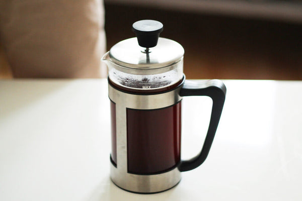 earlybird coffee French Press Kaffee ziehen
