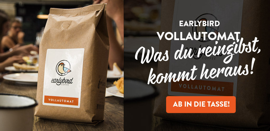 earlybird Vollautomat earlybird coffee
