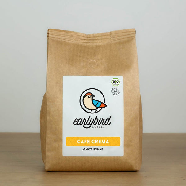 earlybird CAFE CREMA (ganze Bohne) – 500g
