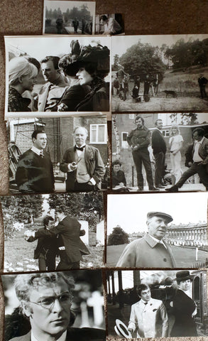 "[Forbes, Bryan; UK Film Director & Novelist]. [Production Stills From The Film ""The Wrong Box"" (1966), Salamander Film Productions]."