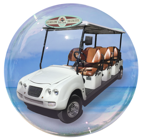 Lux Limo - 8 passenger golf cart rental