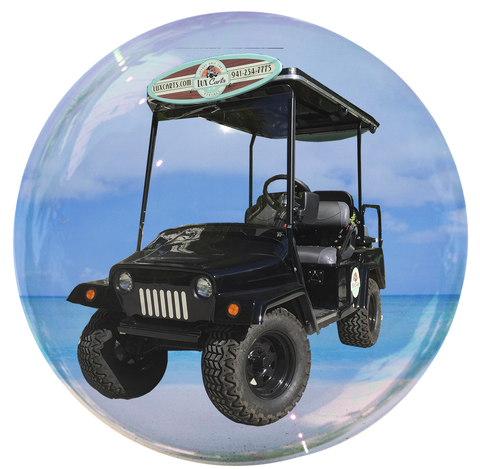 LuxVader - 4 passenger golf cart rental