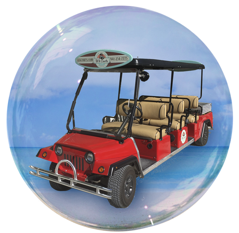 Big Lux - 6 passenger golf cart rental