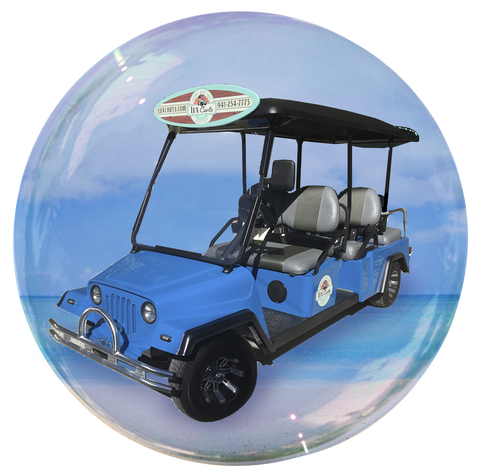 DeLux - 6 passenger golf cart rental