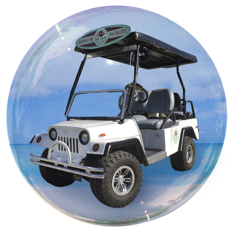 Luxie - 4 passenger golf cart rental