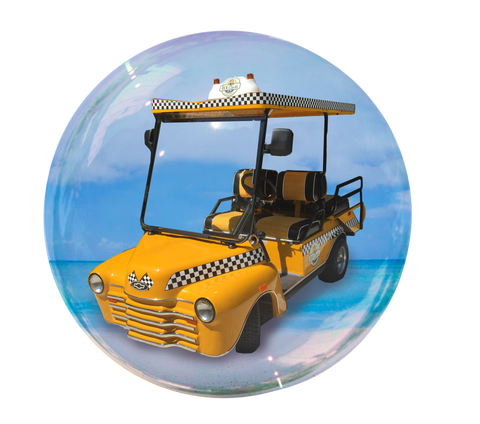 Lux Taxi - 4 passenger golf cart rental