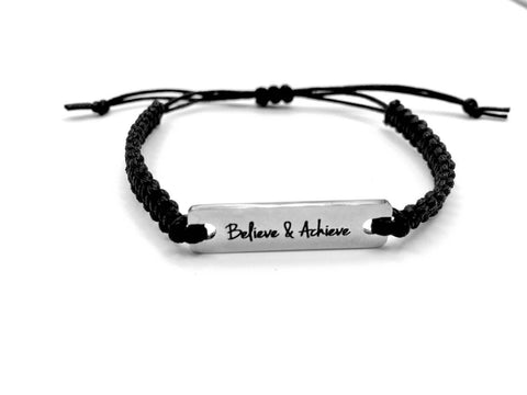 Believe and Achieve Bracelet