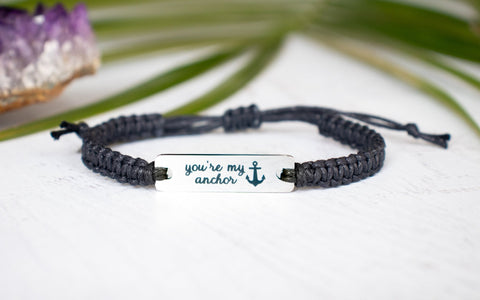 You're My Anchor Bracelet