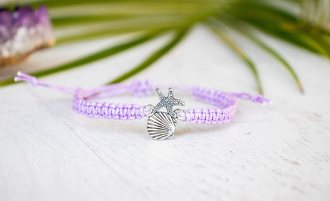 Shell and Starfish Bracelet