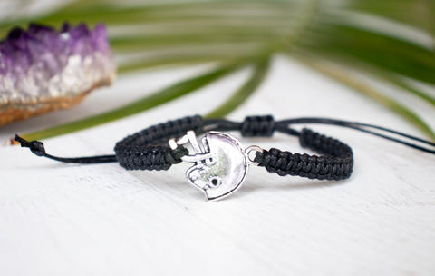 Football Helmet Bracelet