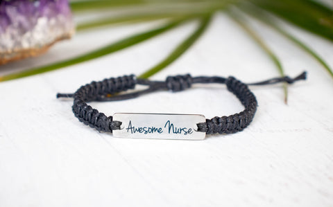 Awesome Nurse Bracelet