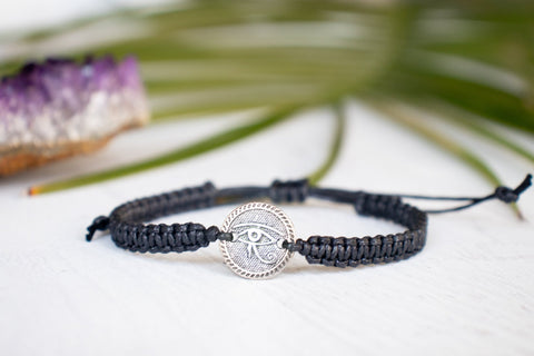 Eye of Horus Medallion Bracelet