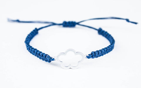 Cloud Flower Friendship Bracelet