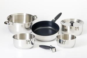 Nesting Cookware - Hybrid Stainless Steel