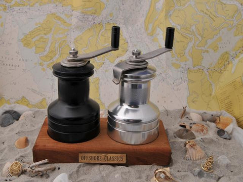 Winch Salt and Pepper Mills
