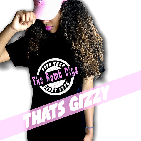 Gizzy T Black/Bubble Gum Pink