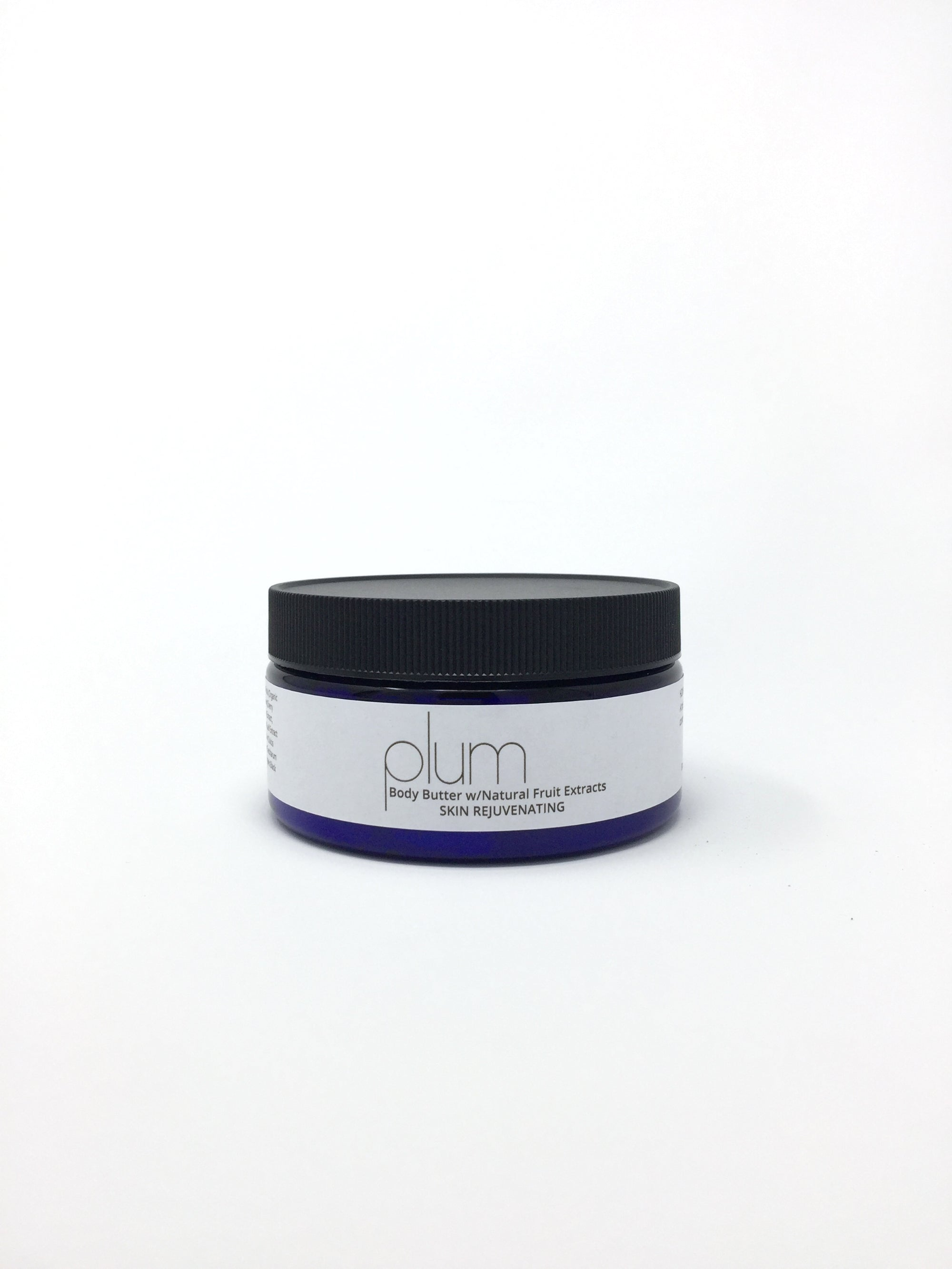 PLUM Body Butter w/Natural Fruit Extracts SKIN REJUVENATING