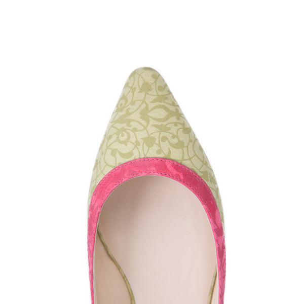 Ema Gasbi Ethnochic Flat Shoes Ballet Beirut Light Yellow