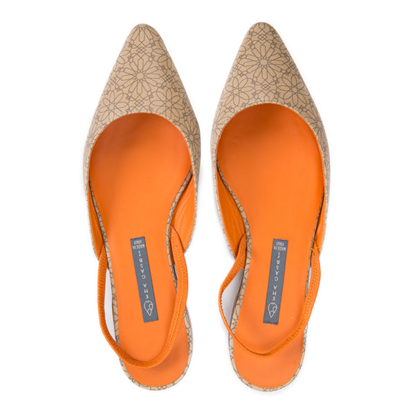 VENERE | Flat Shoes Rabat Beige