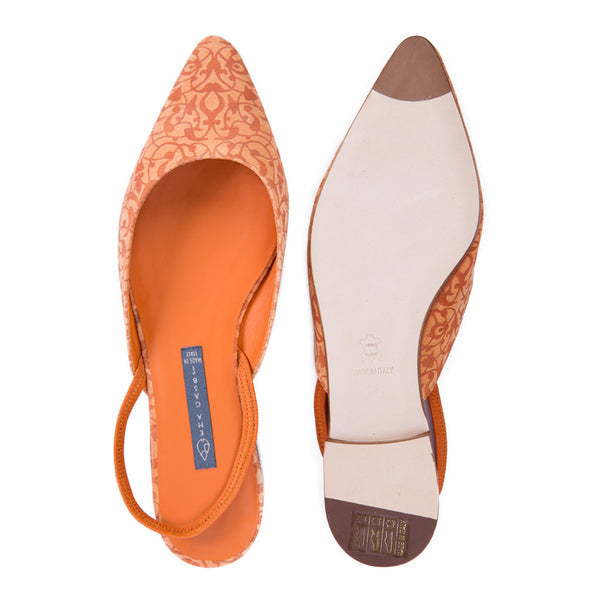 VENERE | Flat Shoes Beirut Orange