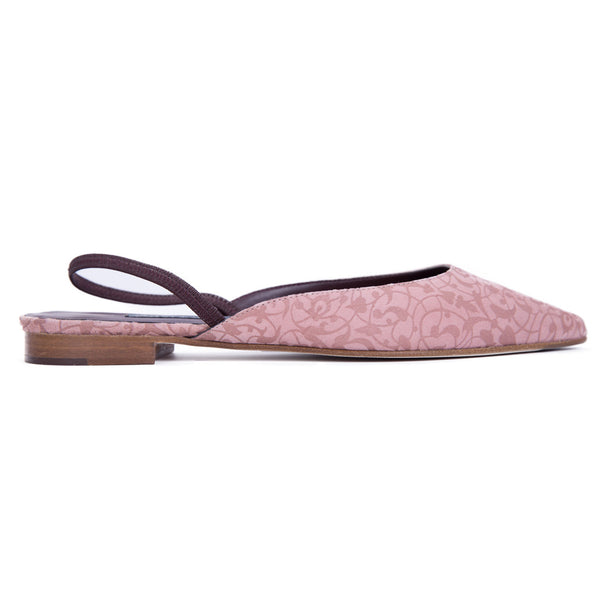 Ema Gasbi Ethnochic Flat Shoes Beirut Pale Rose