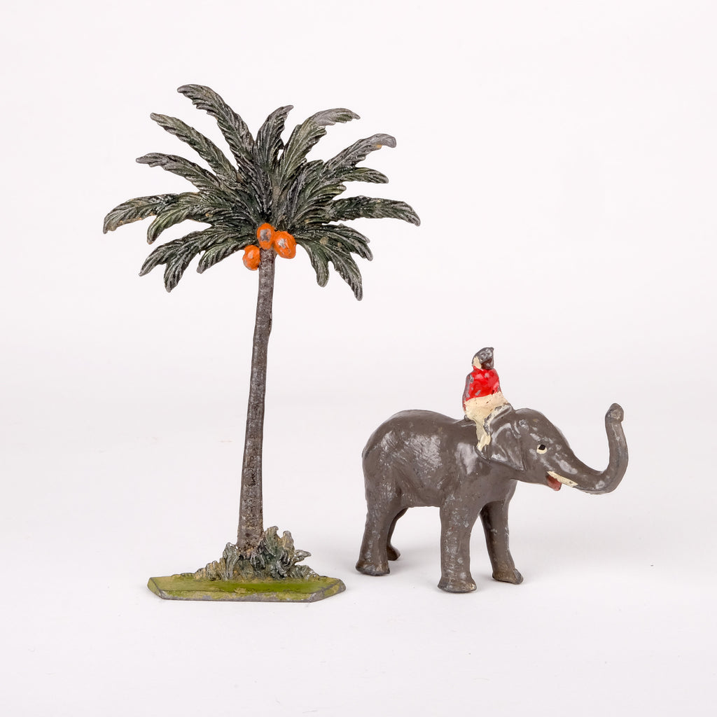 Palm Tree and Elephant