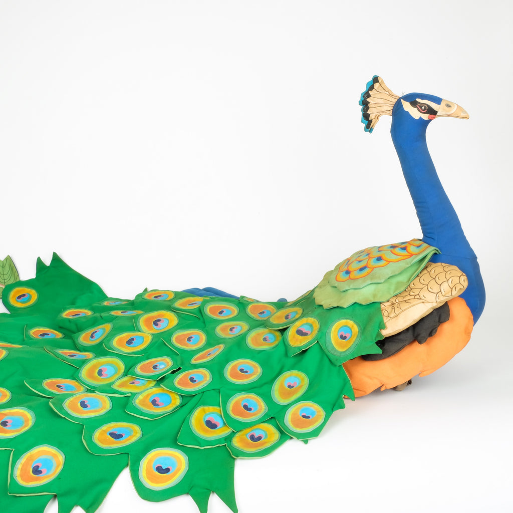 Hand made Child's Fabric Peacock