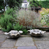 Pair of Willy Guhl Flower Concrete Planter