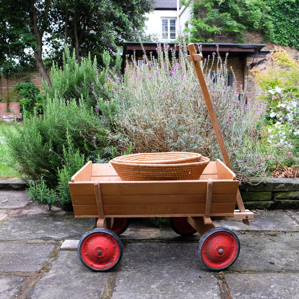 Childs Wooden Cart