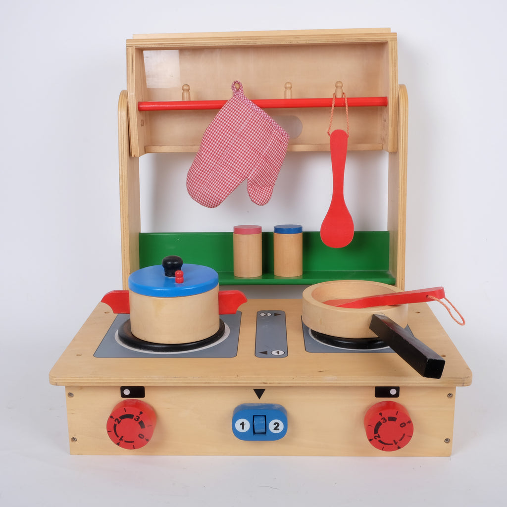 Wooden Toy Camper Set