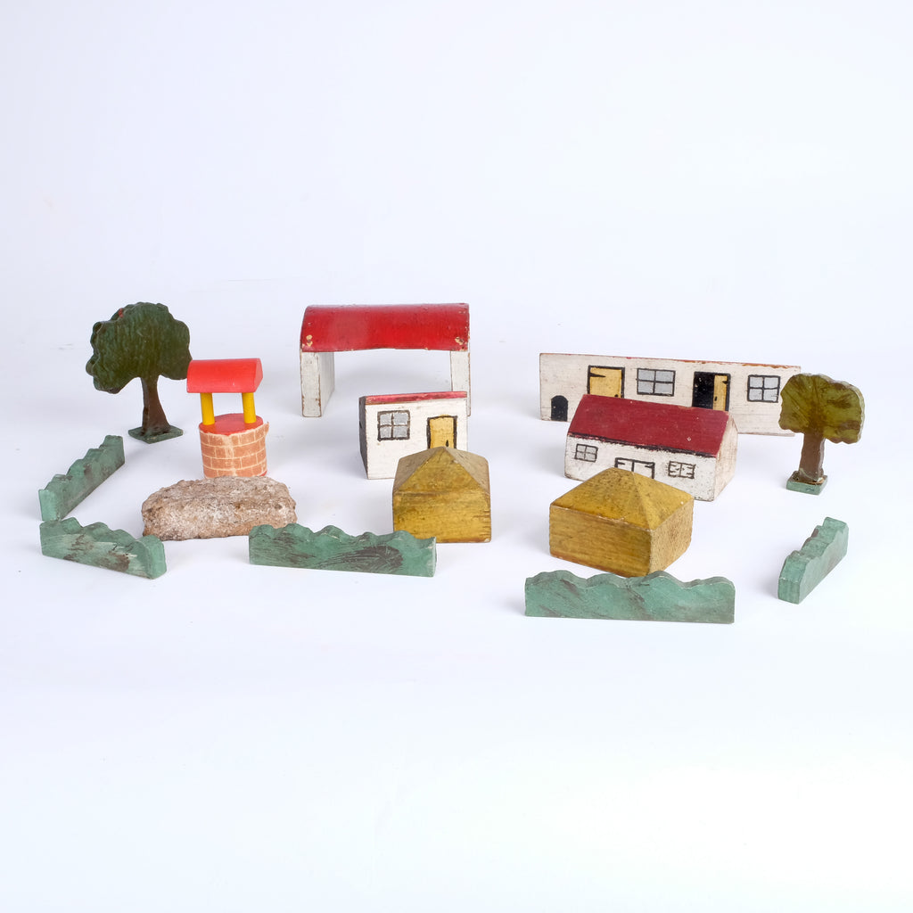 Beautiful Wooden Toy farm