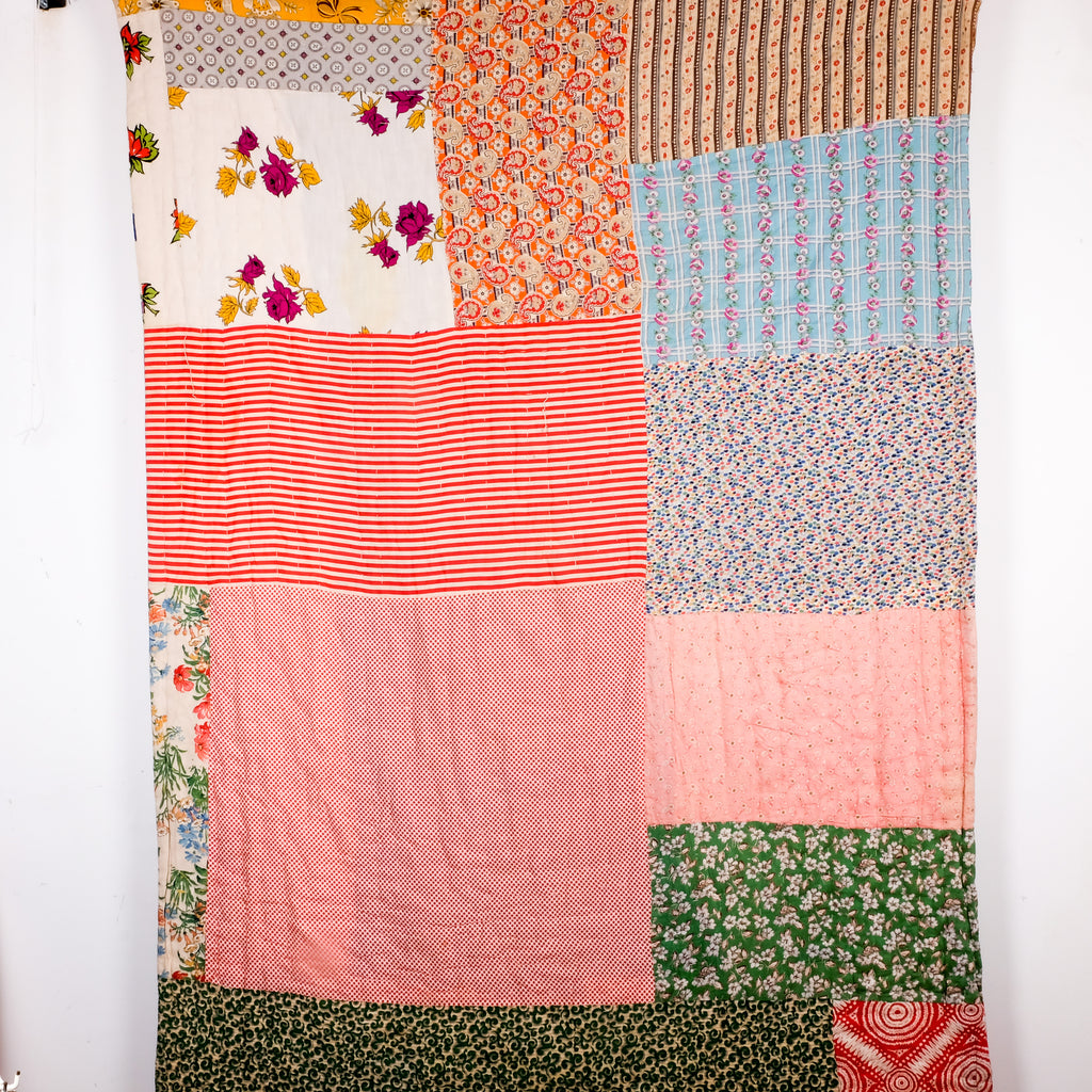 French Patchwork Quilt